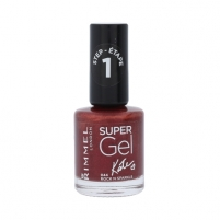 Nagų lakas Rimmel London Super Gel By Kate Cosmetic 12ml Shade 044 Rock N Sparkle