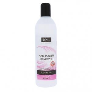 Nagų lako nuėmėjas Xpel Nail Polish Remover Acetone Free Cosmetic 400ml Dekoratyvinė kosmetika nagams
