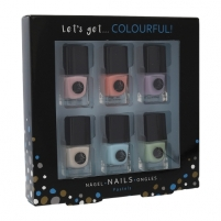 Nagų lakų rinkinys 2K Let´s Get Colourful! Pastels Nail Polish Cosmetic 5ml