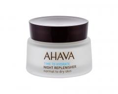 Naktinis odos kremas AHAVA Time To Hydrate Night Replenisher Night Skin Cream 50ml