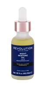 Naktinis odos priežiūros serumas Makeup Revolution London 30ml