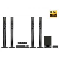 Namų kinas Sony 5.1 channel Blu-ray home theatre system BDVN9200WW USB port, Wi-Fi, NFC, CD player, Wireless connection, FM radio Mājas kinozāles sistēmas