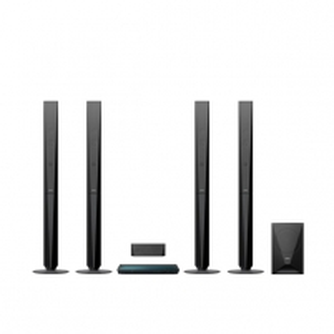 Namų kino sistema BDV-E6100 3D 5.1 1000W Tall Namų kino sistemos