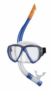 Nardymo kaukė su vamzd. suaug. 99012 6 blue Nardymo komplektai, reikmenys