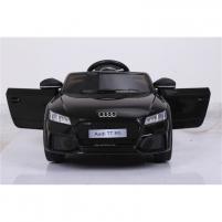 Naujausias licencijuotas juodas elektromobilis AUDI R8 (WDHL1818) Automobiliai vaikams
