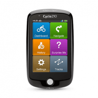 "Navigation Mio Cyclo 210 8.9cm (3.5""), Color Display, 320 x 480, GPS (satellite), Maps included Gps navigation technique"