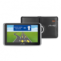 "Navigacija Mio Truck navigation MiVue Drive 65 6.2"" touchscreen, Bluetooth, GPS (satellite), Traffic Message Channel (TMC), Maps included GPS navigacinė technika"