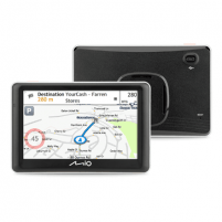 "Navigacija Mio Truck navigation Spirit 7700 5"" touchscreen, 5"" touchscreen, GPS (satellite), Maps included GPS navigacinė technika"
