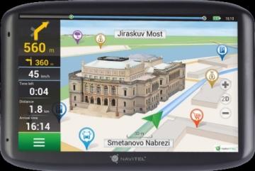Navigacija NAVITEL E500 5 EU45+ RUS, UKR, BLR, KAZ (Žemėlapiai) GPS navigacinė technika
