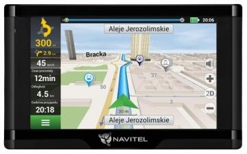 Navigacija NAVITEL E500 MAGNETIC 5 EU45+ RUS, UKR, BLR, KAZ (Žemėlapiai) GPS navigacinė technika