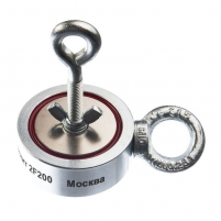 Neodimio paieškos magnetas (dvipusis) Nepra 400kg 2F200 Metalo detektoriai ir aksesuarai