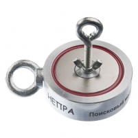 Neodimio paieškos magnetas (dvipusis) Nepra 800kg 2F400 Metāla detektori un piederumi