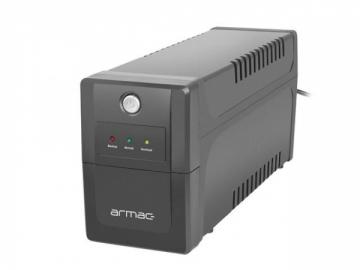 Nepertraukiamo maitinimo šaltinis Armac UPS HOME Line-Interactive 650F LED 2x Schuko 230V, USB UPS maitinimo šaltiniai
