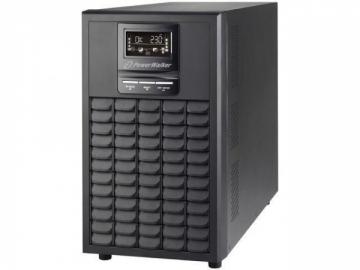 Nepertraukiamo maitinimo šaltinis Power Walker UPS On-Line 1/1 Phase 3000VA,CG,PF1 USB/RS-232,8x c13,1xC19,EPO,LCD