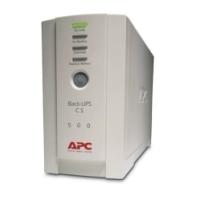 Nepertraukiamo maitinimo šaltinis UPS APC BACK UPS CS 500 VA UPS maitinimo šaltiniai