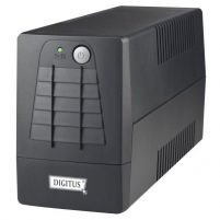 UPS Digitus 600VA juodas 2 Schuko