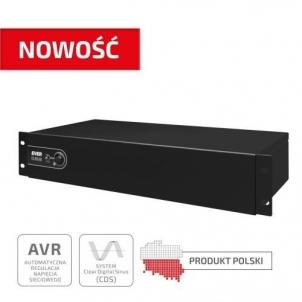 Nepertraukiamo maitinimo šaltinis UPS EVER ECO Pro 700 AVR CDS 19 2U