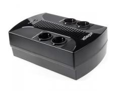 Nepertraukiamo maitinimo šaltinis UPS Gembird Energenie Floor 650VA, AVR, LED, 4x schuko, 230V OUT