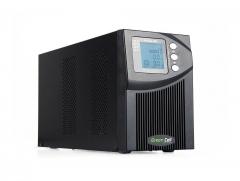 Nepertraukiamo maitinimo šaltinis UPS Online Green Cell MPII z LCD 1000VA UPS maitinimo šaltiniai