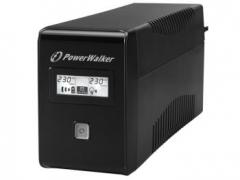 UPS Power Walker Line-Interactive 650VA 2x SCHUKO, RJ11, USB, LCD