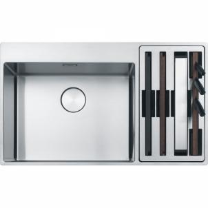 Nerūdijančio plieno plautuvė Franke Box Center BWX 220-54-27, kairinė Nerudyjančio steel kitchen sinks