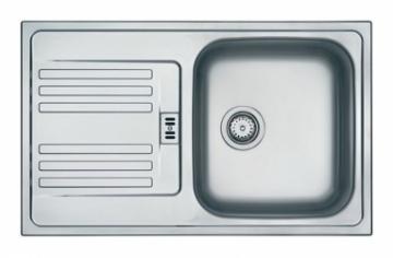 Nerūdijančio plieno universali, industrinė plautuvė FRANKE Euroform EFN614-78 be ventilio Nerudyjančio tērauda virtuves izlietnes