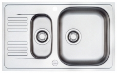 Nerūdijančio plieno universali plautuvė FRANKE Euroform EFX651-78 be ventilio (su 2 skylėmis) Nerudyjančio steel kitchen sinks