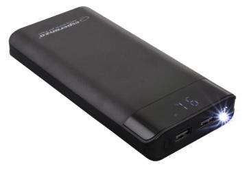 Nešiojama baterija ESPERANZA EMP120K - POWER BANK 17400MAH PHOTON Išorinės baterijos (Power bank)