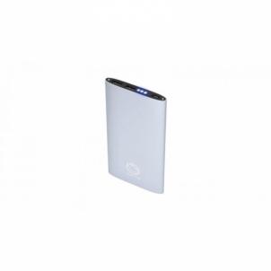 Nešiojama baterija MANTA POWER BANK SILVER 8000mAh MPB980S Išorinės baterijos (Power bank)