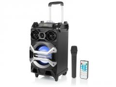 Nešiojama garso kolonėlė BT3000 Bluetooth Speaker FM
