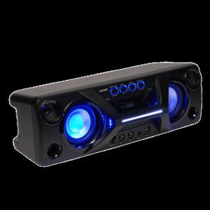 Nešiojama garso kolonėlė Denver Bluetooth garsiakalbis su FM radijo imtuvu Nešiojamos garso kolonėlės
