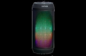 Nešiojama garso kolonėlė Denver Bluetooth speaker with light effects Nešiojamos garso kolonėlės