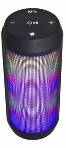 Nešiojama garso kolonėlė ESPERANZA EP133K FADO - garsiakalbis bluetooth fm su LED apšvietimu Nešiojamos garso kolonėlės