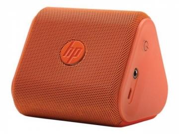 Nešiojama garso kolonėlė HP Roar Mini Wireless Bluetooth 2.5 Wat Speaker - Neon Orange Nešiojamos garso kolonėlės