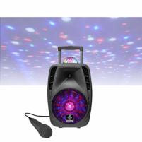 Nešiojama garso kolonėlė iDance Bluetooth Speaker Groove 216 100 W, Portable, Black, Bluetooth