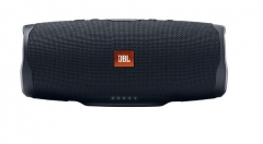 Nešiojama garso kolonėlė JBL Charge 4 black Nešiojamos garso kolonėlės