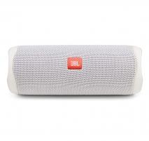 Nešiojama garso kolonėlė JBL Flip 5 white Nešiojamos garso kolonėlės