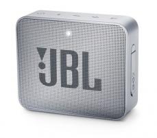 Nešiojama garso kolonėlė JBL GO 2 grey Nešiojamos garso kolonėlės