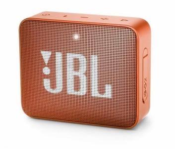 Nešiojama garso kolonėlė JBL GO 2 orange Nešiojamos garso kolonėlės