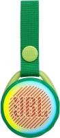 Nešiojama garso kolonėlė JBL JR POP green Nešiojamos garso kolonėlės