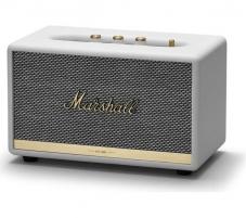 Nešiojama garso kolonėlė Marshall Action II Bluetooth white Nešiojamos garso kolonėlės