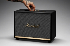 Nešiojama garso kolonėlė Marshall Woburn II Bluetooth black Nešiojamos garso kolonėlės