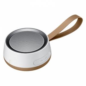 Nešiojama garso kolonėlė Samsung Wireless Speaker Scoop Brown Nešiojamos garso kolonėlės