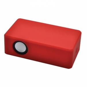 Nešiojama garso kolonėlė Wireless speakerPower Up,red Nešiojamos garso kolonėlės