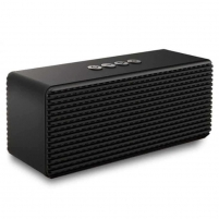 Nešiojama kolonėlė Devia Life-style stereo with dual speakers black Nešiojamos garso kolonėlės