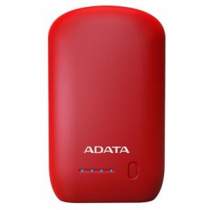 Nešiojamas įkroviklis ADATA P10050 Power Bank 10050mAh, Red