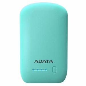 Nešiojamas įkroviklis ADATA P10050 Power Bank 10050mAh, Turquoise