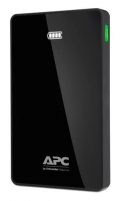 APC Mobile Power Bank, 10000mAh Li-polymer (for smatphones, tablets) Black
