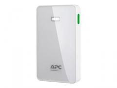 APC Mobile Power Bank, 5000mAh Li-polymer (for smatphones, tablets) White
