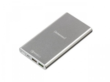 Nešiojamas įkroviklis Intenso Powerbank Q10000 Quick Charge, 10000mAh, Silver